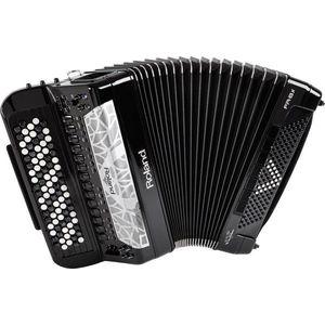 Roland FR-8x Čierna Gombíkový akordeón vyobraziť
