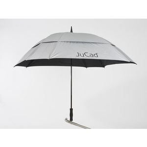 Jucad Umbrella Square & Windproof Silver vyobraziť