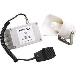 Marco EMH-MS Electronic whistle + mike + siren 24V vyobraziť
