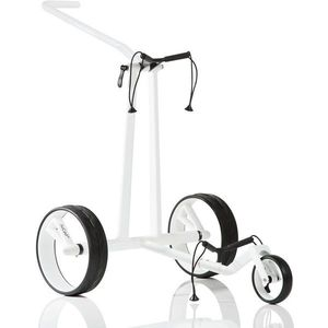 Jucad Phantom 3-Wheel White Golf Trolley vyobraziť