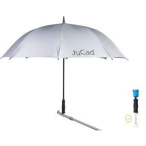 Jucad Telescopic Umbrella Silver vyobraziť