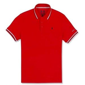 Musto Evolution Pro Lite SS Polo True Red S vyobraziť