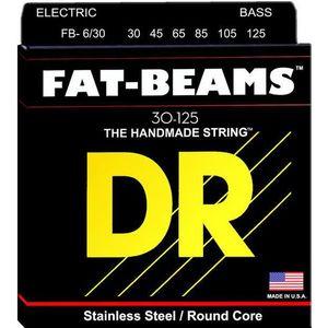 DR Strings Fat Beams Stainless 6 Strings 030-125 vyobraziť