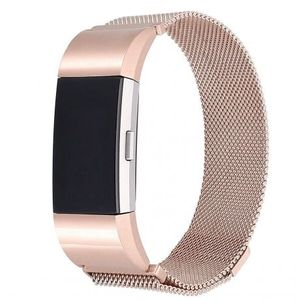 Fitbit Charge 2 Milanese (Large) remienok, Rose Gold vyobraziť