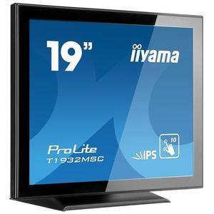 19'' iiyama T1932MSC-B5X - IPS, FullHD, dotykový, 14ms, 250cd/m2, VGA, HDMI, DP vyobraziť