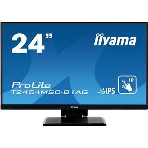 24'' iiyama T2454MSC-B1AG IPS FullHD dotykový 5ms 250cd/m2 1000: 1 16: 9 VGA HDMI repro vyobraziť