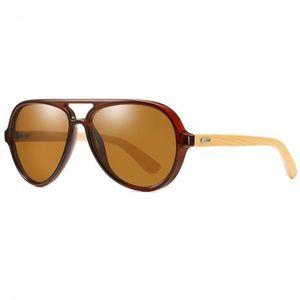 KDEAM Bourne 3 slnečné okuliare, Tea vyobraziť