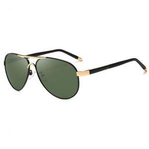 NEOGO James 5 slnečné okuliare, Gold / Green vyobraziť