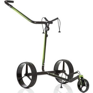 Jucad Carbon Travel 2.0 Electric Golf Trolley Black/Green vyobraziť