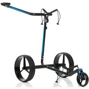 Jucad Carbon Travel 2.0 Electric Golf Trolley Black/Blue vyobraziť