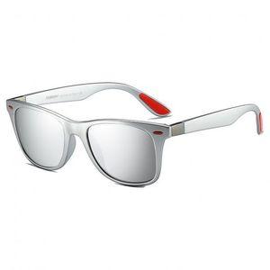 DUBERY Columbia 8 slnečné okuliare, Silver / Silver vyobraziť