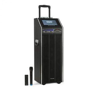 """Auna Pro DisGo Box 2100 DVD, prenosný PA systém, 300 W max., 9"""" TFT displej, DVD vyobraziť"""