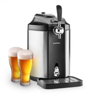 Klarstein Skal, výčapné zariadenie, chladenie piva, 5 l súdok, CO2, ušľachtilá oceľ vyobraziť