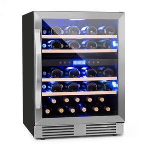 Klarstein Vinovilla Duo43 2-zónová chladnička na víno, 129l, 43 fliaš, 3 farby, sklené dvere vyobraziť