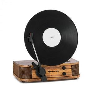Auna Verticalo SE, retro gramofón, USB, BT, linkový výstup, drevo vyobraziť