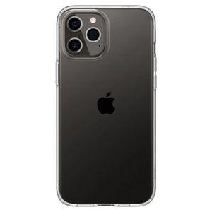 Spigen Liquid Crystal silikónový kryt na iPhone 12 / 12 Pro, priesvitný vyobraziť