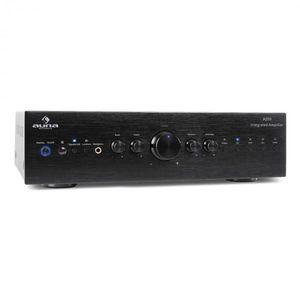 Stereo zosilňovač Auna CD708, AUX phono, čierny, 600 W vyobraziť