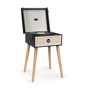 Auna Sarah Ann DAB gramofón, 3/45/78 rpm, DAB+/FM rádio, bluetooth, čierny vyobraziť