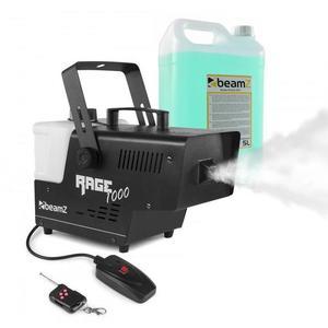 Beamz Rage 1000, výrobník hmly, vrátane hmlovej tekutiny, 1000 W, 125 m³/ min. vyobraziť