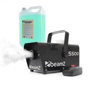 Beamz S500, výrobník hmly, s hmlovou tekutinou, 500 W, 50 m³/min. vyobraziť