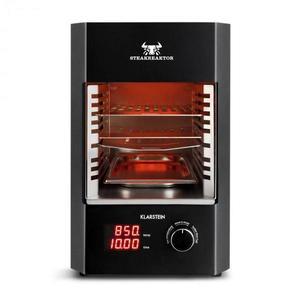 Klarstein Steakreaktor 2.0, 1600 W, elektrický gril, 850 °C, infračervené žiarenie vyobraziť