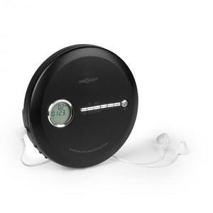 OneConcept CDC 100MP3 Discman Disc-Player, LCD ASP, zosilňovač basov, 2x1, 5V; čierna farba vyobraziť