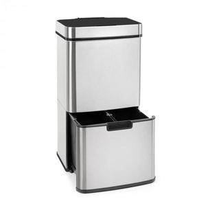 Klarstein Touchless, odpadkový kôš, senzor, 72 l, 4 nádoby, ABS/PP/ušľachtilá oceľ vyobraziť