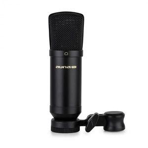 Auna Pro MIC-600 USB, kondenzátorový mikrofón, USB, slúchadlový výstup, plug & play vyobraziť