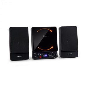 Auna Microstar, mikrosystém, vertikálny systém, CD prehrávač, bluetooth, USB port, diaľkový ovládač vyobraziť