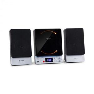Auna Microstar Sing, mikro - karaoke systém, CD-prehrávač, Bluetooth, USB-port, diaľkový ovládač vyobraziť