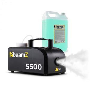 Beamz S500 New Edition, výrobník hmly, vrátane hmlovej kvapaliny, 500W, 50 m³/min vyobraziť