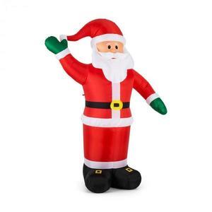 OneConcept Mr. Klaus, Klaus, 240 cm, nafukovací Santa Claus, LED vyobraziť