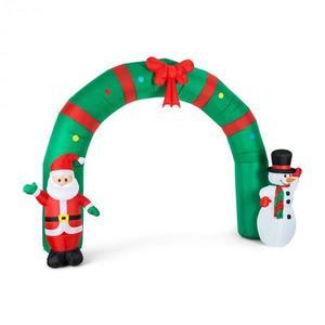 OneConcept Merry-Welcome, 250 cm, nafukovací bránkový oblúk, LED vyobraziť