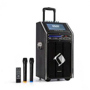 """Auna Pro DisGo Box, 100 DVD, mobilný PA systém, max. 300 W, 9"""" TFT displej, DVD, BT vyobraziť"""