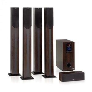 Auna Areal Elegance, 5.1-kanálový systém, 190 W, RMS, BT, USB, SD, AUX vyobraziť