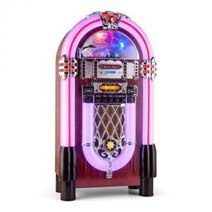 Auna Graceland XXL BT, jukebox s bluetooth USB SD AUX CD FM/AM vyobraziť