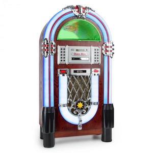 Auna Graceland TT, jukebox, bluetooth, phono, CD, USB, SD, MP3, AUX, FM vyobraziť