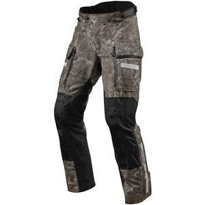Rev'it! Sand 4 H2O Camo Brown M Textilné nohavice vyobraziť