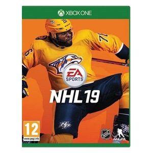 XBOX ONE NHL 19 vyobraziť