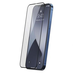Baseus 2x Full Screen ochranné sklo na iPhone 12 mini, čierne (SGAPIPH54N-KC01) vyobraziť