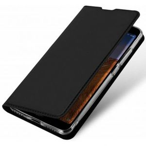 DUX DUCIS Skin Pro knižkové kožené puzdro na Huawei P Smart Pro, čierne vyobraziť