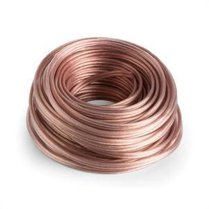 Numan reproduktorový kábel - OFC, transparentný, medený, 2 x 2, 5 mm², 30 m vyobraziť
