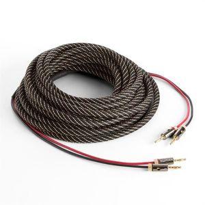 Numan reproduktorový kábel, OFC, medený, 2 x 3, 5 mm², 5 m, textilný obal, štandardizovaný vyobraziť