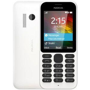 Nokia 215 Dual SIM White EU distribúcia vyobraziť