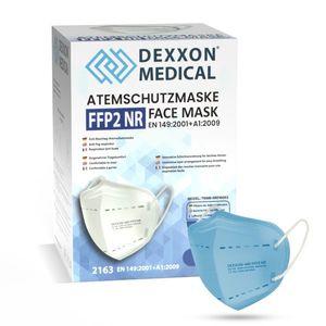 DEXXON MEDICAL Respirátor FFP2 NR svetlomodrý 1ks/bal vyobraziť