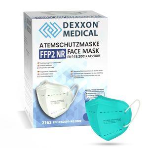 DEXXON MEDICAL Respirátor FFP2 NR svetlozelený 10ks/bal vyobraziť