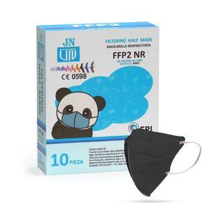 Jinhuan JN001 detský respirátor FFP2 NR čierny 10ks/bal vyobraziť