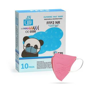 Jinhuan JN001 detský respirátor FFP2 NR ružový 10ks/bal vyobraziť