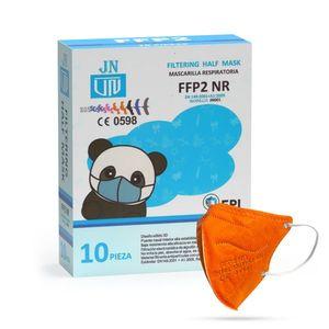 Jinhuan JN001 detský respirátor FFP2 NR oranžový 10ks/bal vyobraziť