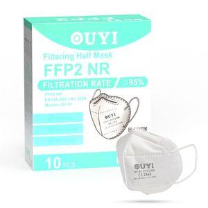 UYI OY-01 Respirátor FFP2 NR biely 1ks/bal vyobraziť